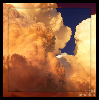 Heavenly Square 2 Poster by Carol Groenen