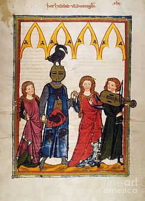Heidelberg Lieder, C.14th Poster by Granger