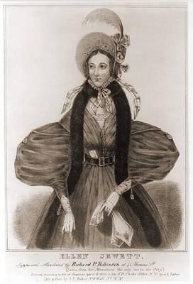Helen Jewett 1813-1836 Was An New York Poster by Everett