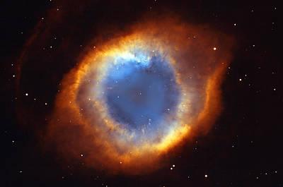 Helix Nebula Poster by Ricky Barnard
