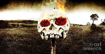 Hellfire Of Love Poster by Jorgo Photography - Wall Art Gallery