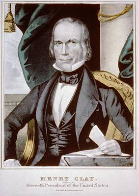 Henry Clay 1777-1852 Ran For President Poster by Everett