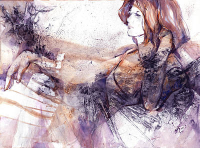 Her Elegance Poster by Joan  Jones