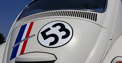 Herbie The Love Bug Poster by Rob Hans