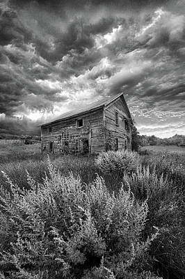Here There Be Ghosts Poster by Phil Koch