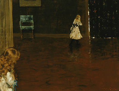 Hide And Seek Poster by William Merritt Chase
