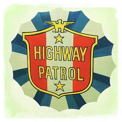 Highway Patrol Poster by Nina Prommer
