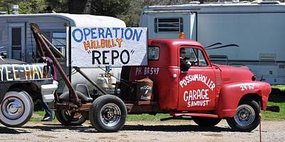 Hillbilly Repo Poster by Colleen Gerlach