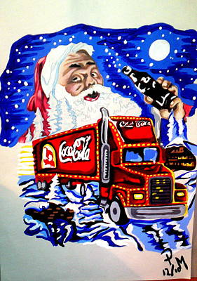 Holiday's Are Coming... Poster by Pauline Murphy