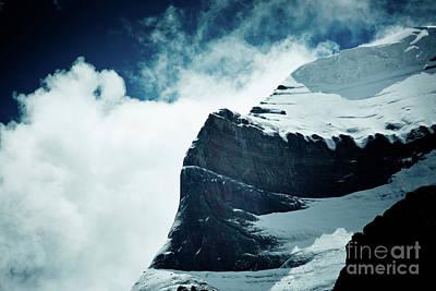 Holy Kailas West Slop Himalayas Tibet Artmif.lv Poster by Raimond Klavins