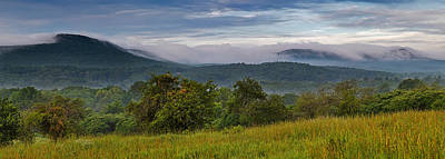 Holyoke Range From Mount Pollux Poster by Stephen Gingold