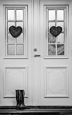 Home Is Where The Heart Is Poster by Maggie Terlecki