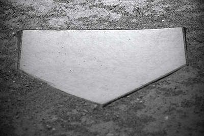 Home Plate Poster by Shawn Wood