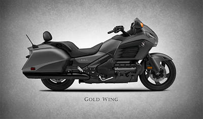 Honda Gold Wing Poster by Mark Rogan