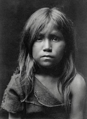 Hopi Indian Girl 1905 Poster by Daniel Hagerman