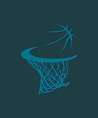 Hornets Basketball Hoop Poster by Joe Hamilton