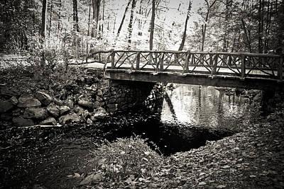 Horseman's Bridge -sleepy Hollow Poster by Colleen Kammerer