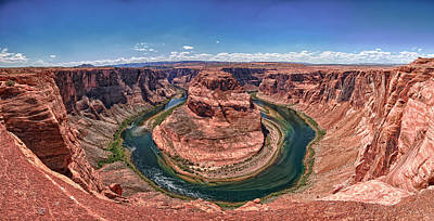 Horseshoe Bend - Colorado River Poster by Andreas Freund