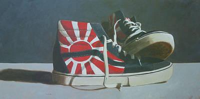 Hosoi Vans Poster by John Holdway