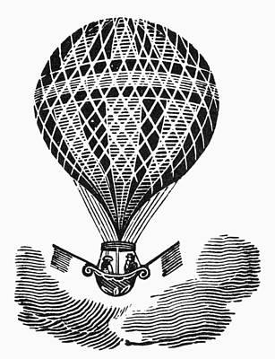 Hot Air Balloon Poster by Granger