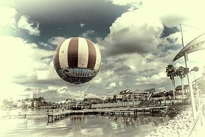 Hot Air Balloon  Poster by Louis Ferreira