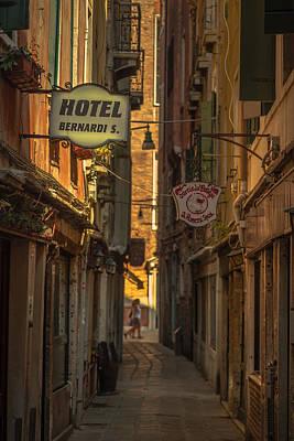Hotel Bernardi S Poster by Chris Fletcher