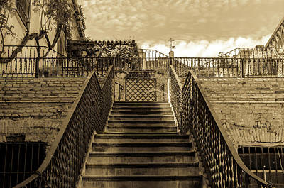 House Of Pilate - Stairway Poster by Andrea Mazzocchetti
