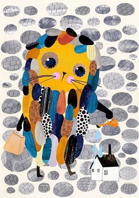 Housekeeper Poster by Anne Vasko