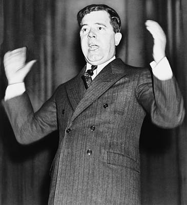 Huey Long - The Kingfish Poster by War Is Hell Store