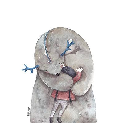 Hug Me Poster by Soosh