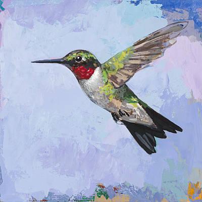 Hummingbird #3 Poster by David Palmer