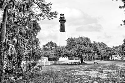 Hunting Island Lighthouse Poster by Scott Hansen