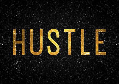 Hustle Poster by Taylan Soyturk