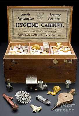 Hygienic Sanitary Appliances, 1895 Poster by Wellcome Images