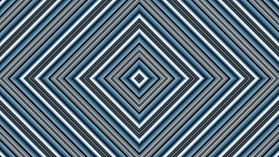 Hypnotic Magic Colorfull Geometric Shapes Poster by Nenad Cerovic