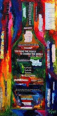 I Am Inspired Poster by Patti Schermerhorn