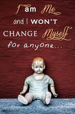 I Am Me Poster by Joana Kruse