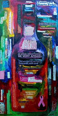 I Am Strong Poster by Patti Schermerhorn