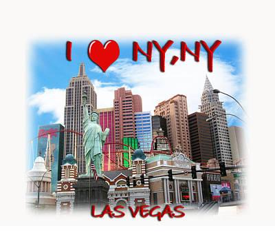 I Love Ny Ny Poster by Gravityx9  Designs