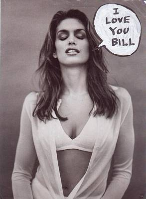 I Love You Bill 4 Poster by William Douglas