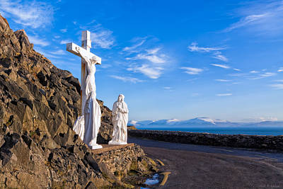 I Met Jesus On The Slea Head Road In Ireland Poster by Mark E Tisdale