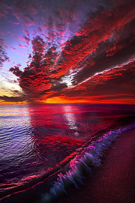 I Wake As A Child To See The World Begin Poster by Phil Koch