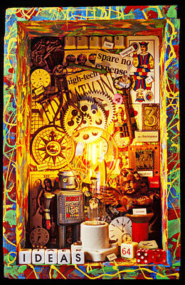 Ideas Poster by Garry Gay