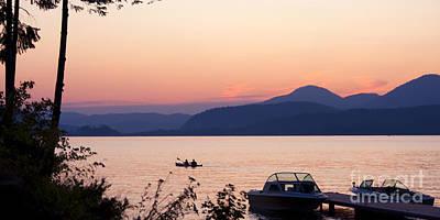 Idyllic Evening Poster by Idaho Scenic Images Linda Lantzy