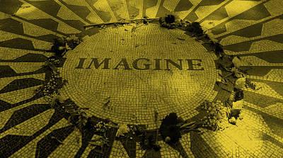 Imagine 2015 Orange Poster by Rob Hans
