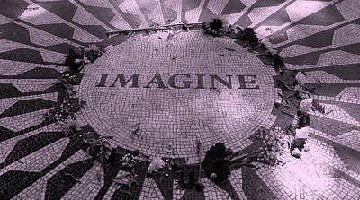 Imagine 2015 Pink Poster by Rob Hans