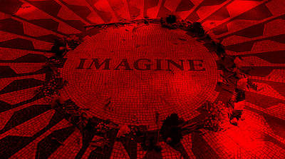 Imagine 2015 Red Poster by Rob Hans