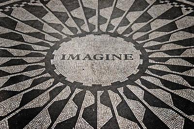 Imagine Poster by Benjamin Matthijs