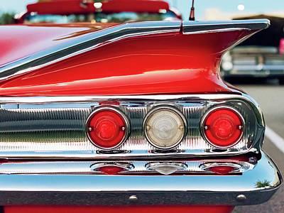 Impala Ss Convertible Poster by Jon Woodhams
