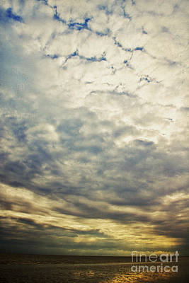 Impression Clouds Poster by Angela Doelling AD DESIGN Photo and PhotoArt
